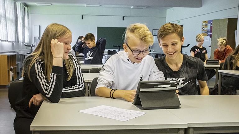 Elever fra Gursken oppvekstsenter