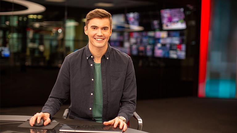 Johannes Slettedal, nyheter, programleder