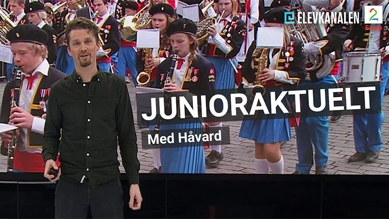 TV 2 Skole, junioraktuelt, Håvard Vatn, korps
