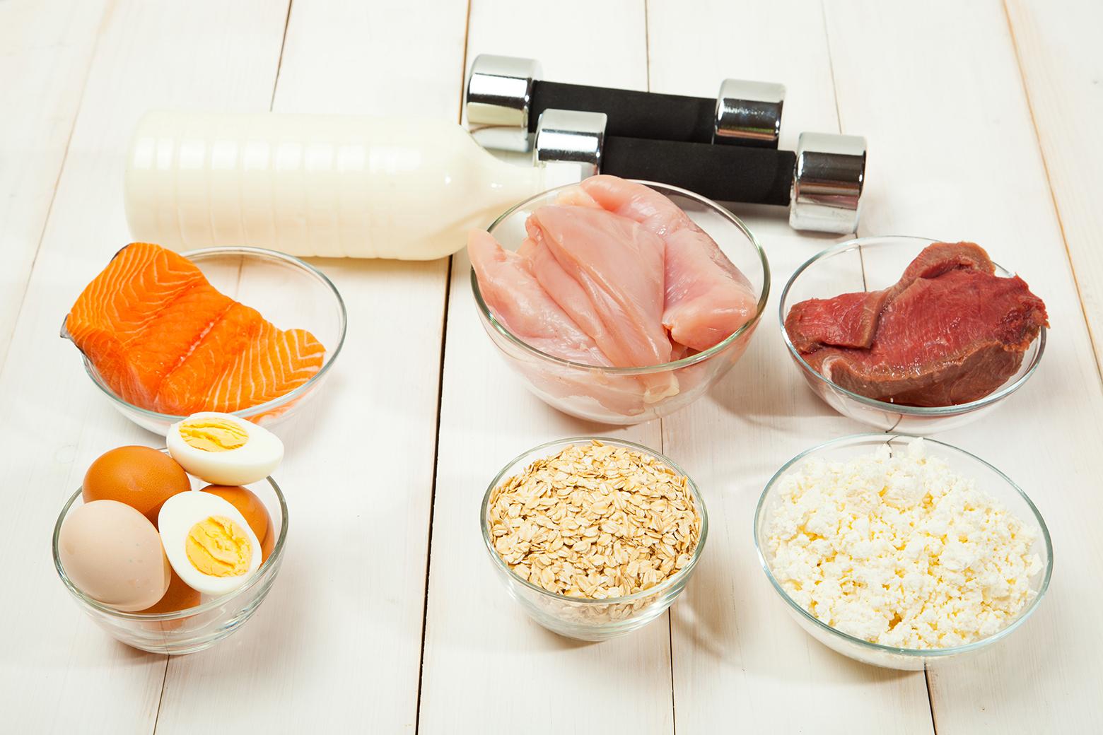 Ulike proteinkilder