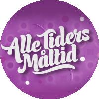 Bilde av logoen til programmet Alle tiders måltid