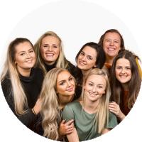 Bildene av jentene i programmet Sykt perfekt